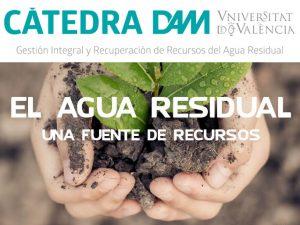 La Cátedra DAM convoca el Premio al mejor TFM sobre gestión integral y recuperación de recursos del agua residual en 2019