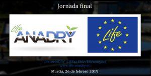Abierta la inscripción a la Jornada Final del proyecto LIFE ANADRY
