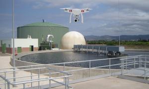 Mejorar la gestión de los olores de la EDAR mediante el uso de drones