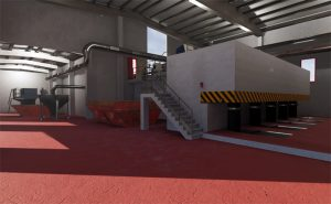 Un nuevo modelo virtual en 3D mejorará la gestión y seguridad de las operaciones de la EDAR