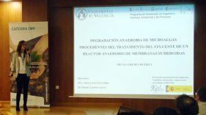 """Silvia Greses: """"La producción de biogás a partir de la digestión anaerobia de microalgas es viable"""""""