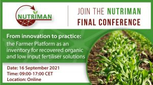 El proyecto NUTRIMAN presenta este jueves sus resultados finales